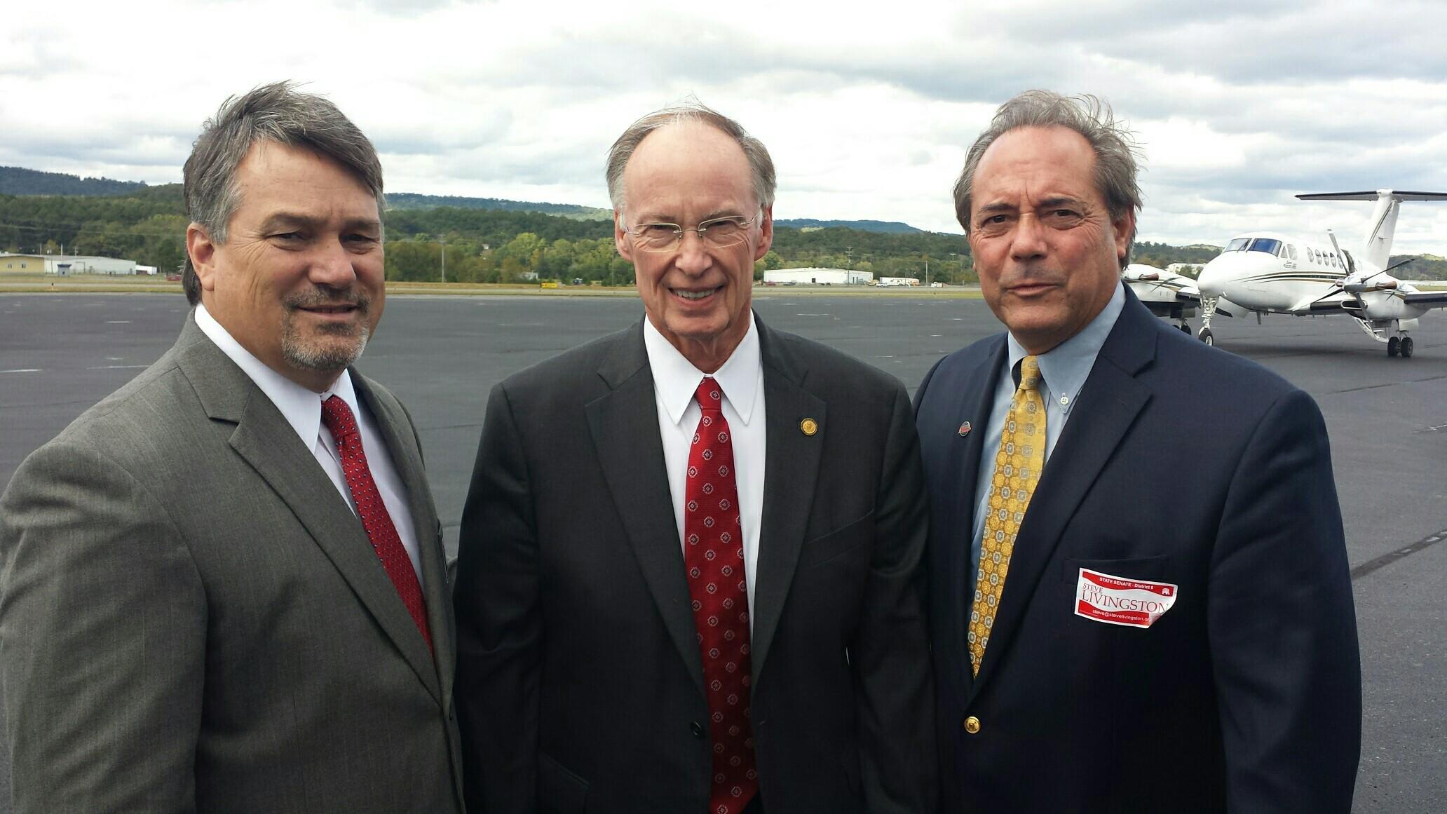 Governor Bentley Visits Northeast Alabama