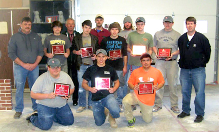 DCTC SkillsUSA Local Masonry Competition