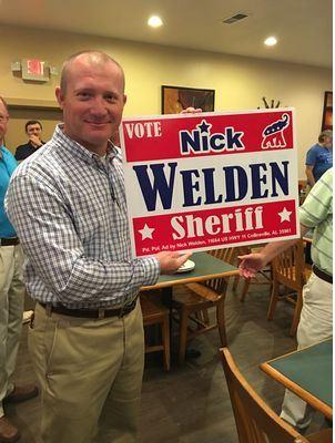 Nick Welden Running For DeKalb County Sheriff