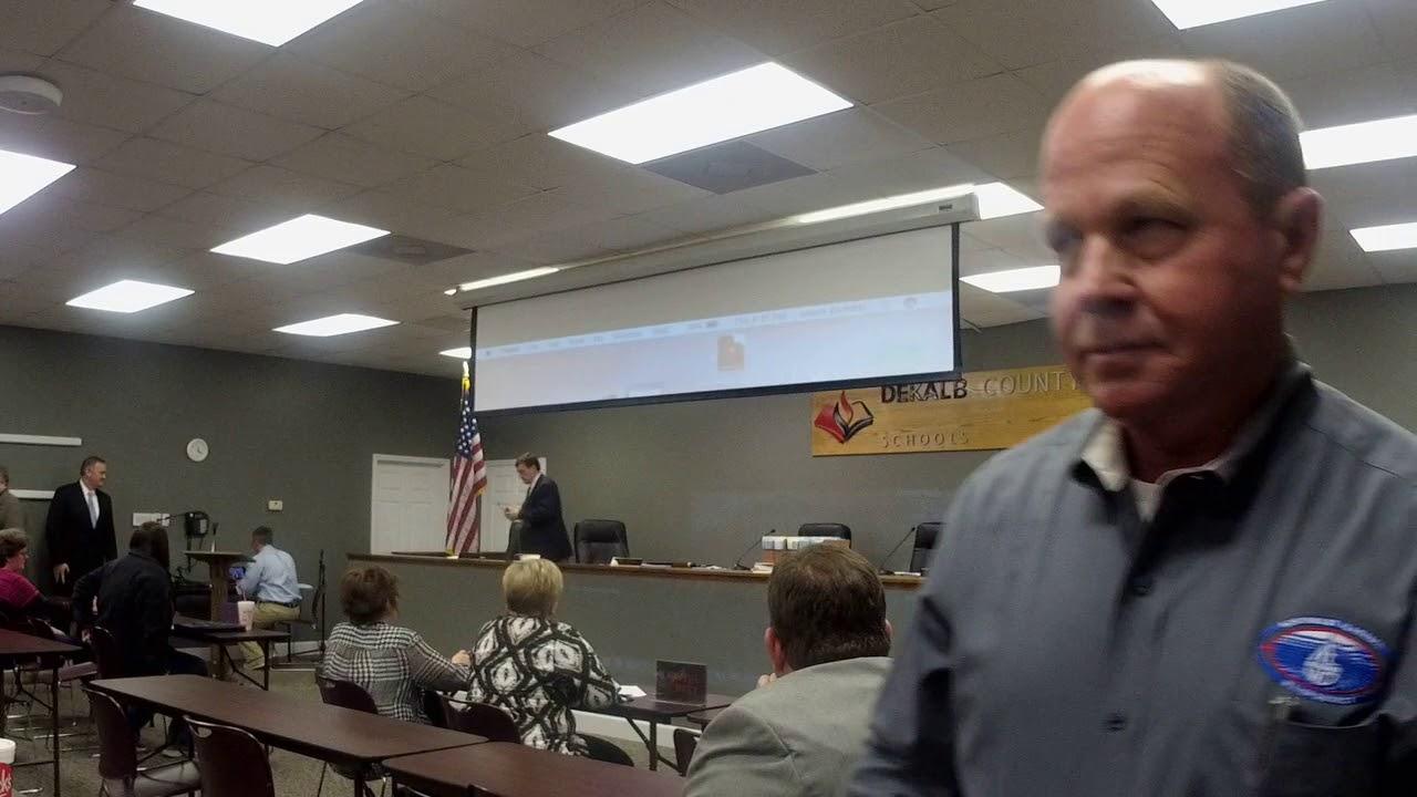 Dekalb County BOE Meeting 11/30/17