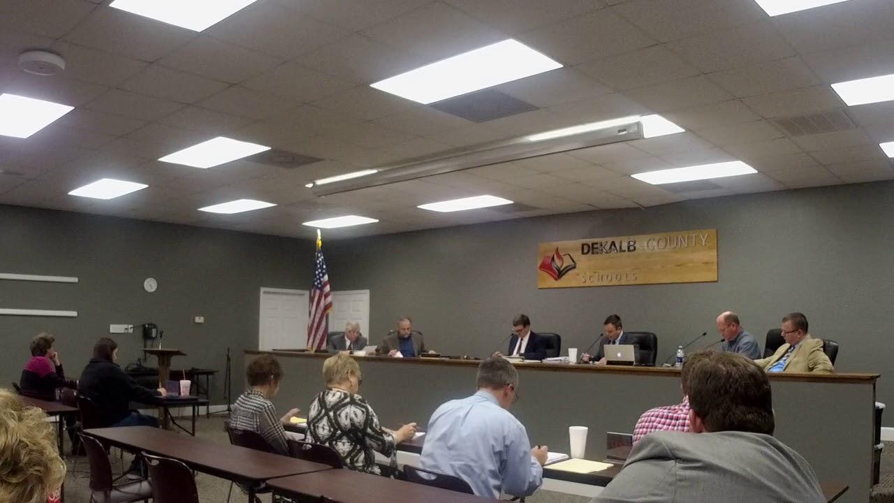 DeKalb County BOE Meeting 11/30/17  Part 3