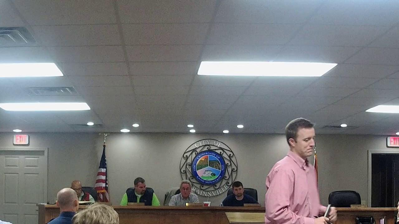Rainsville City Council Work Session 12/4/17