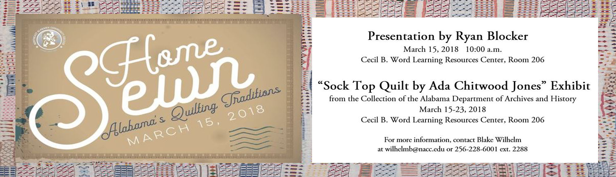 Sock Top Quilt Exhibit