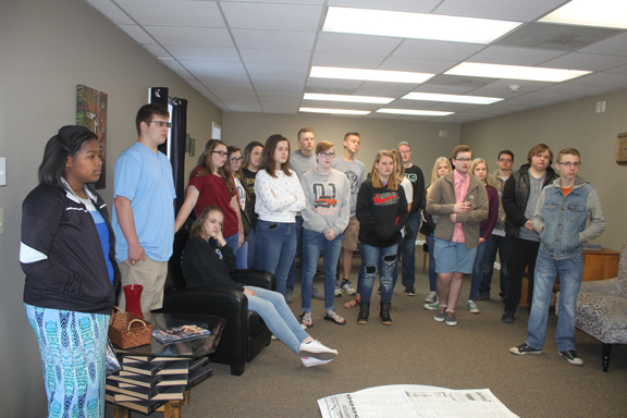 Career Preparedness Students Visit MVN