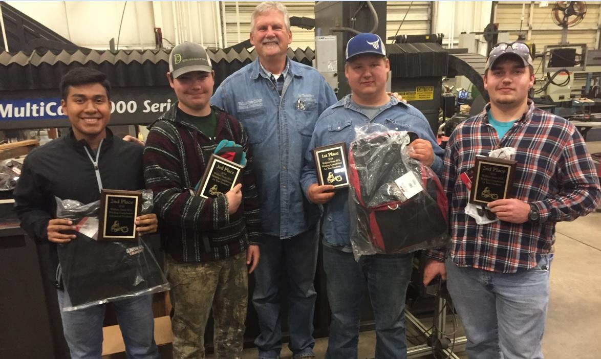 DCTC Juniors Sweep Beginner Welding Competition
