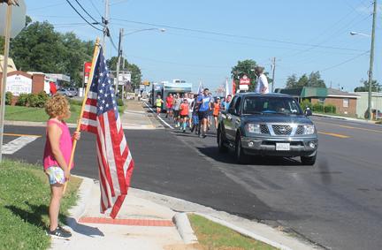 Citizens Support Tribute Run